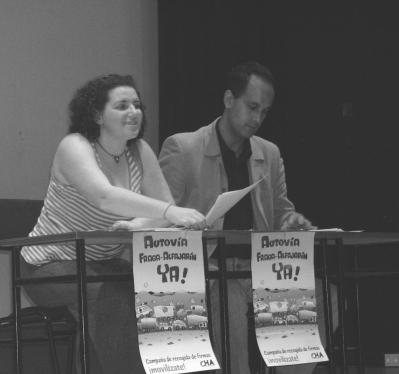 CHA Ribera Baja celebra que su grupo en el Congreso haya conseguido una partida nueva de un millón de euros para redactar el proyecto del desdoblamiento de la Nacional II en el 2008