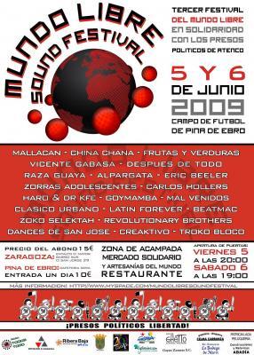 El viernes y el sábado en Pina, el Mundo Libre Sound Festival